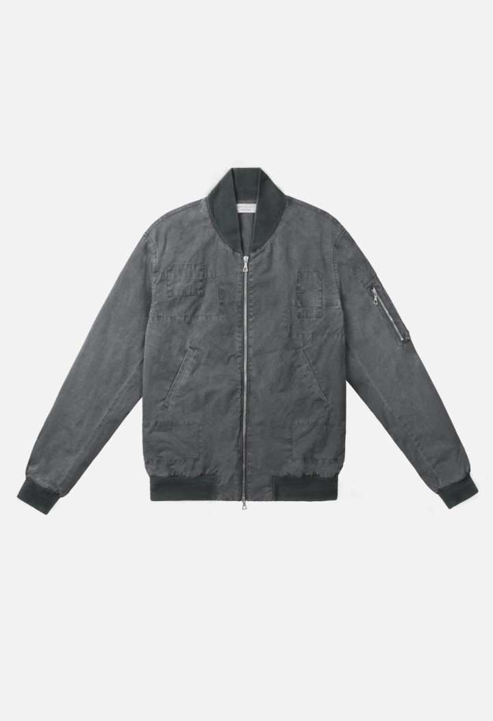 Paneled-Flight-Jacket-Black-Flat-Front