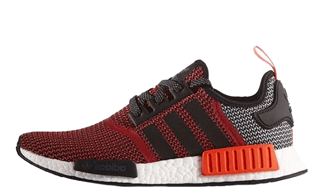 Adidas-NMD_R1-Black-White-Lush-Red