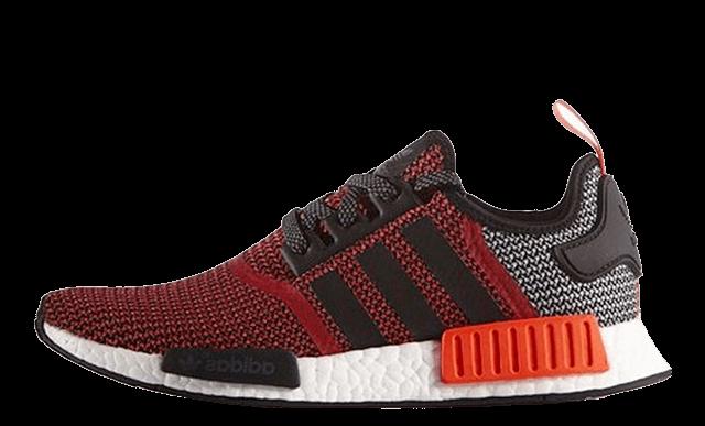 Adidas-NMD_R1-Black-White-Lush-Red