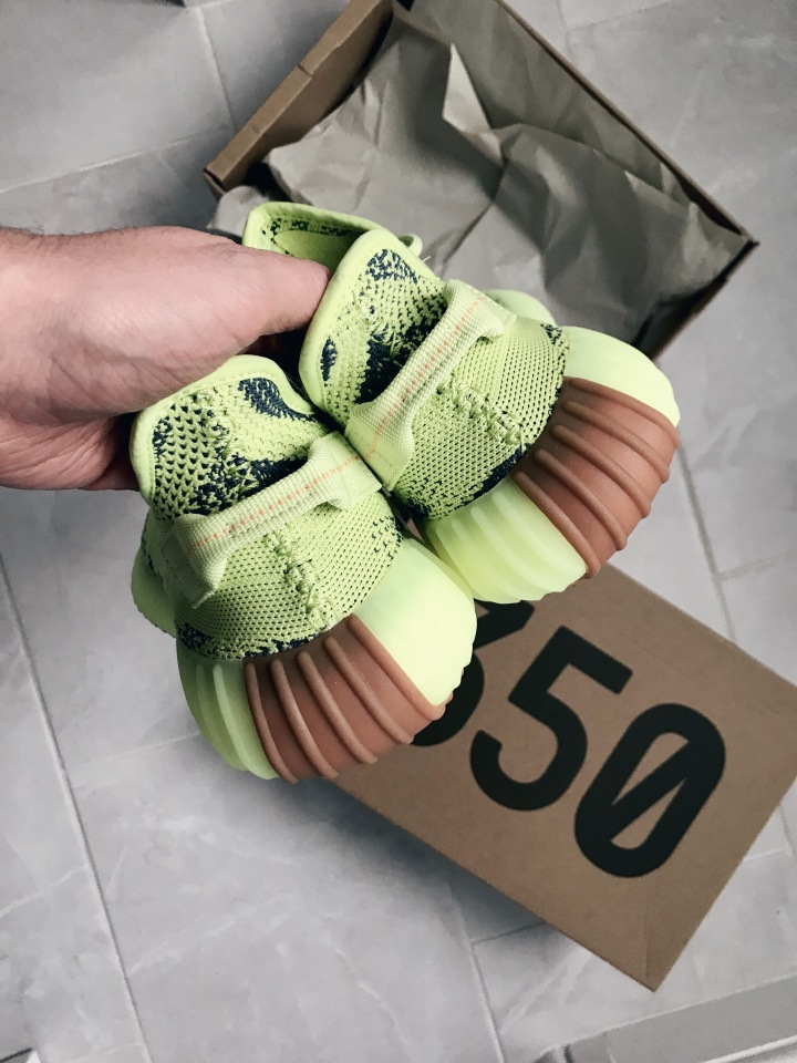 THE YEEZY 350 BOOST 'SEMI FROZEN YELLOW'