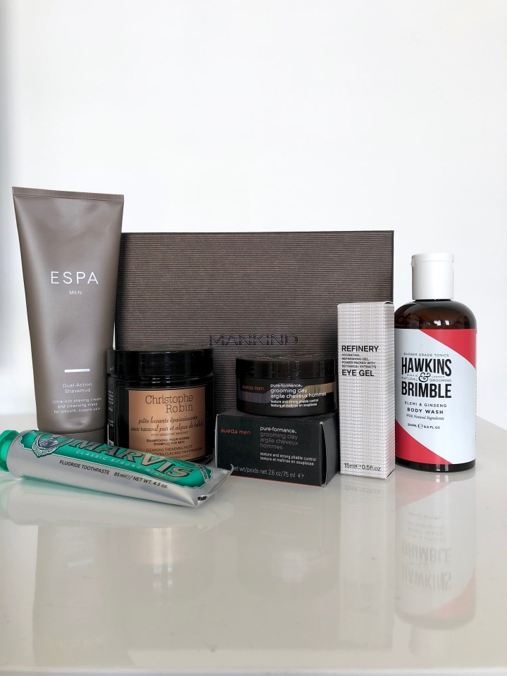 NEW IN – THE MANKIND GROOMING BOX 'STRENGTH EDIT'